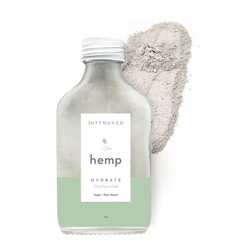 Butt Naked Hemp Clay Mask (50g)