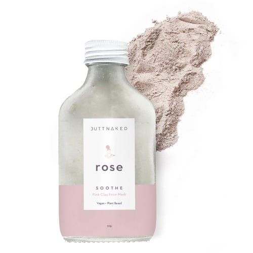 Butt Naked Rose Clay Mask (50g)