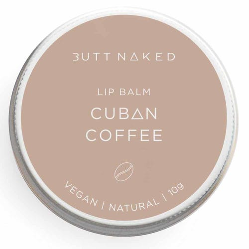 Butt Naked Lip Balm - Cuban Coffee (10g)