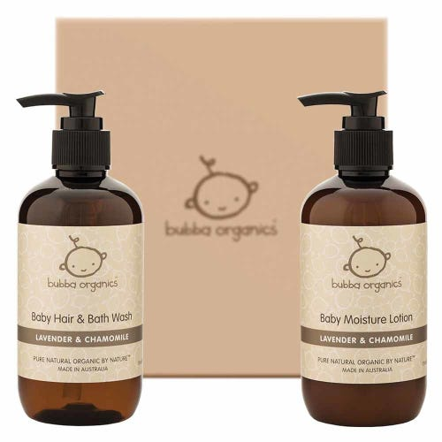 Bubba Organics Lavender Bath & Body Gift Box