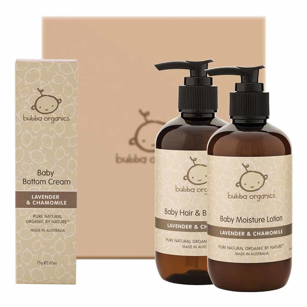 Bubba Organics Lavender & Chamomile Gift Box