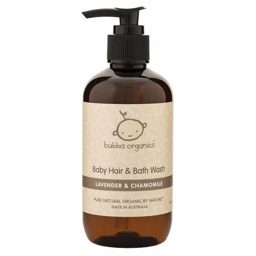 Bubba Organics Lavender Baby Wash (250ml)