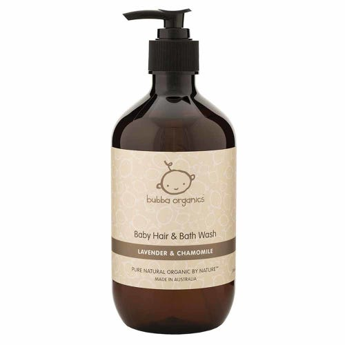 Bubba Organics Lavender Baby Wash (500ml)
