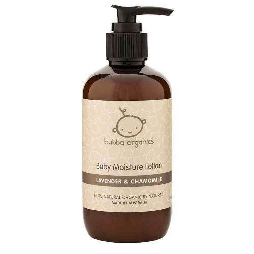 Bubba Organics Lavender Baby Lotion (250ml)
