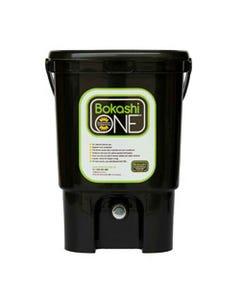 Bokashi One Composting Bin Black   Flora & Fauna Australia