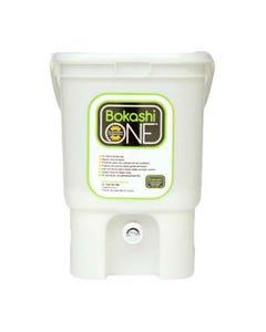 Bokashi One Composting Bin White   Flora & Fauna Australia