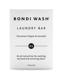 Bondi Wash Laundry Bar - Tasmanian Pepper & Lavender   Flora & Fauna Australia