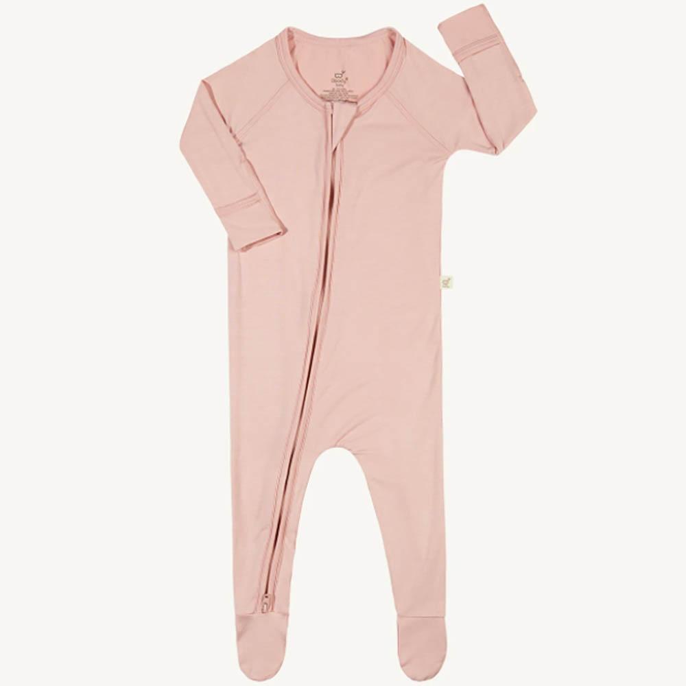 Boody Baby Long Sleeve Onesie - Rose