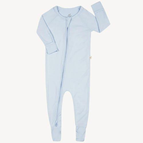Boody Baby Long Sleeve Onesie - Sky