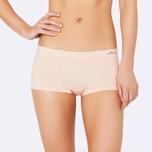 Boody Women's Boyleg Briefs - Blush