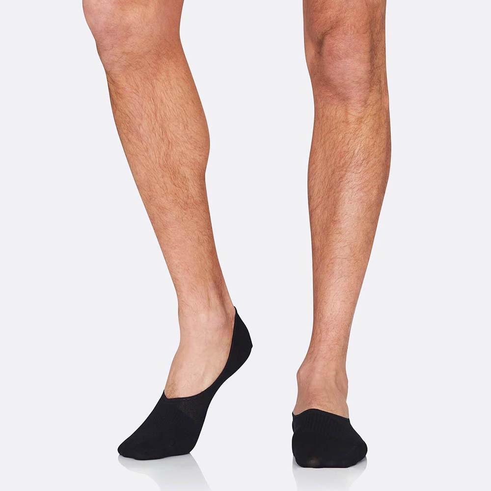 Boody Men's Hidden Socks - Black (6-11)