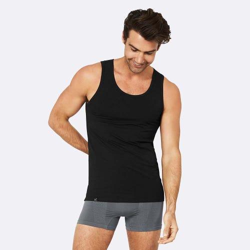 Boody Men's Singlet - Black