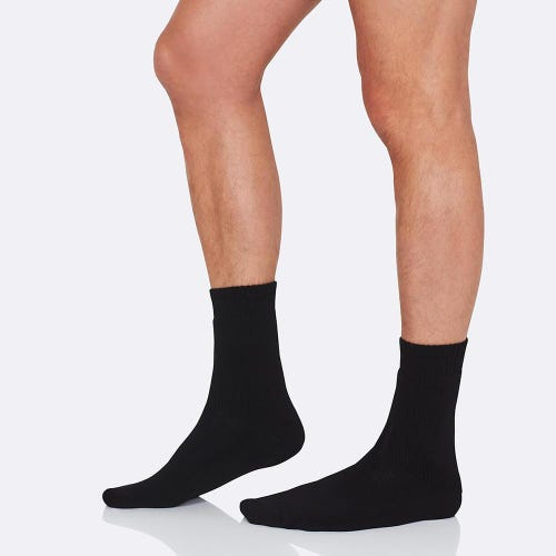 Boody Men's Work/Boot Socks - Black (6-11)