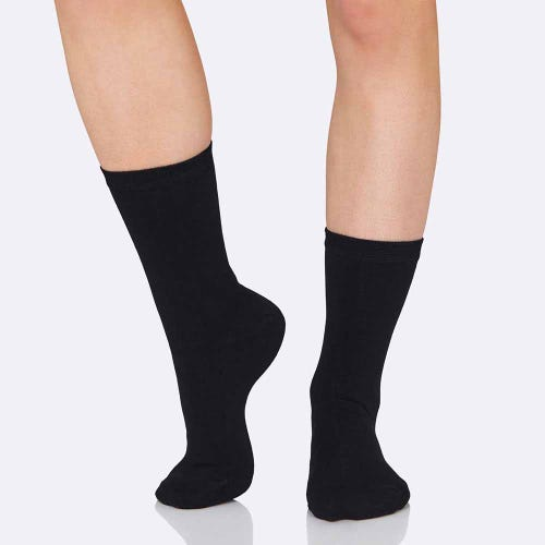 Boody Womens Everyday Socks Black | Flora & Fauna