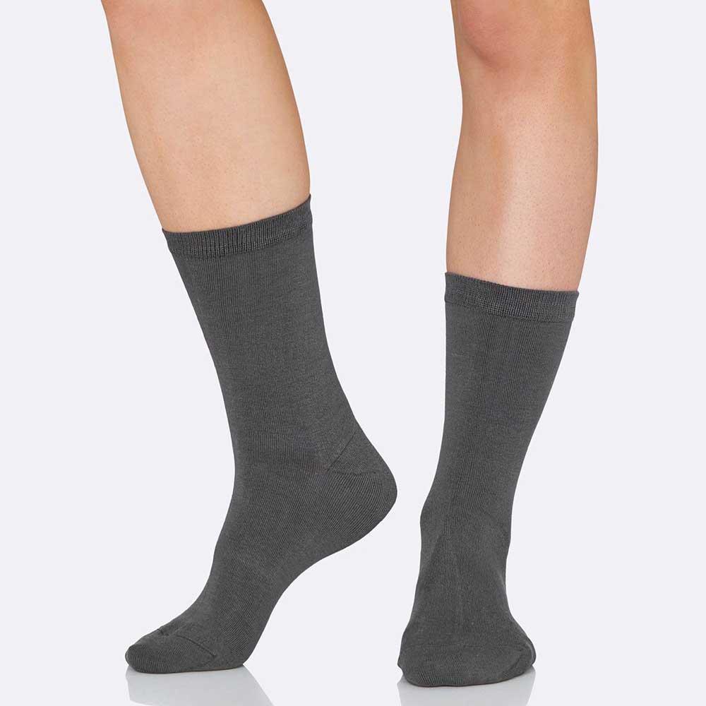 Boody Women's Everyday Socks - Slate (3-9)