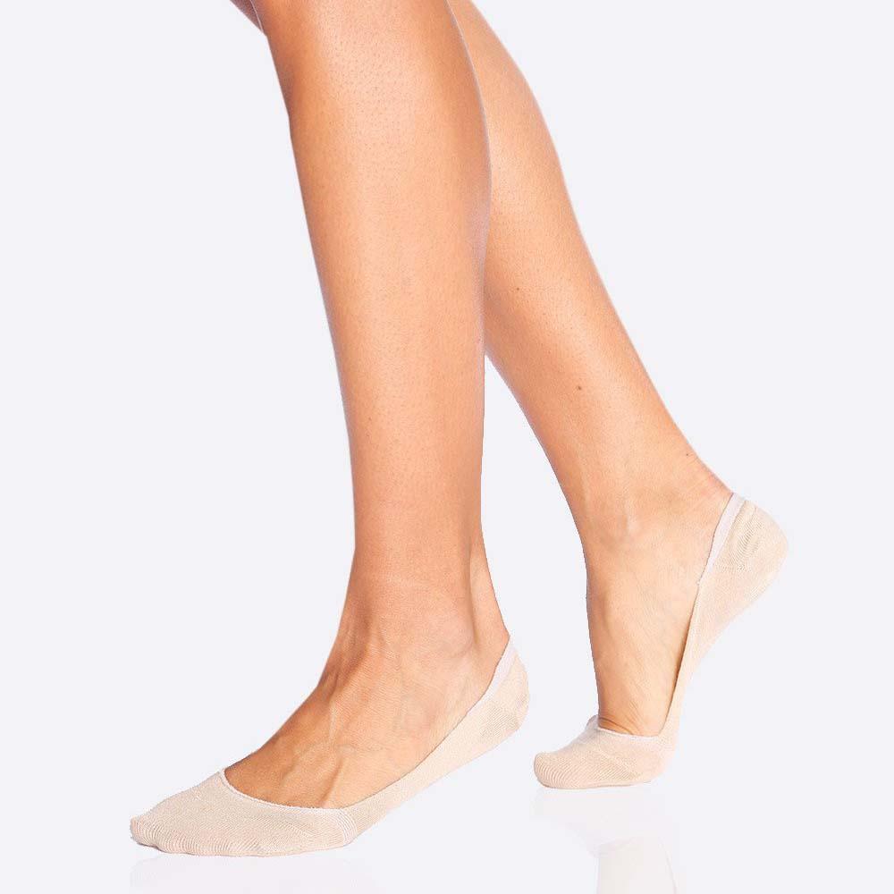 Boody Women's Invisible Socks - Blush