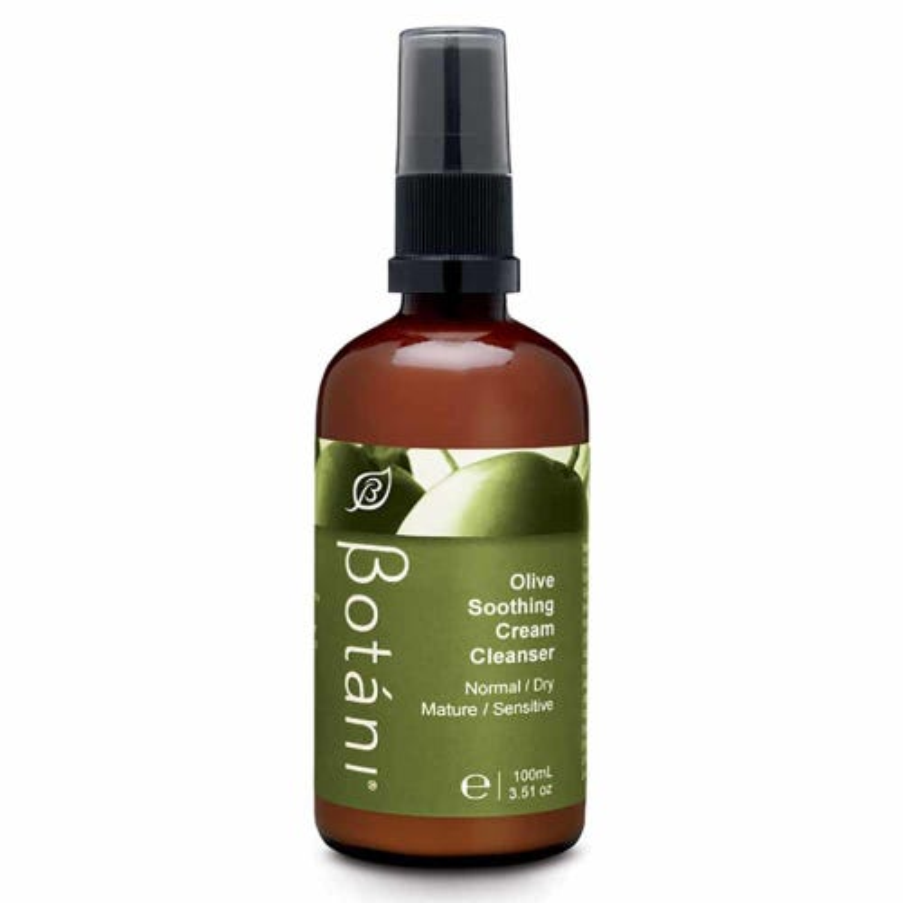Botani Olive Soothing Cream Cleanser (100ml)