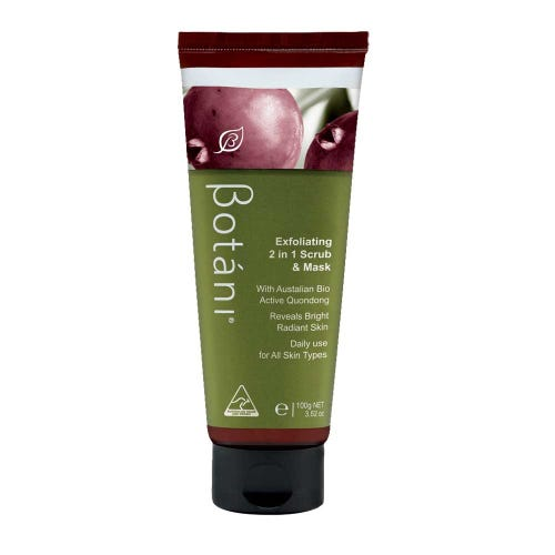 Botani Exfoliating 2 in 1 Scrub & Mask (100g)