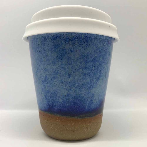 Bryteka Pottery Coffee Cup - Denim (8oz)