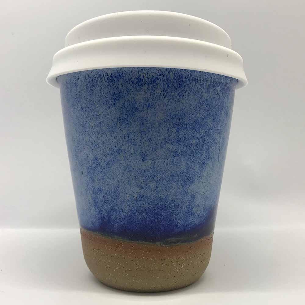 Bryteka Pottery Coffee Cup - Denim (8oz)