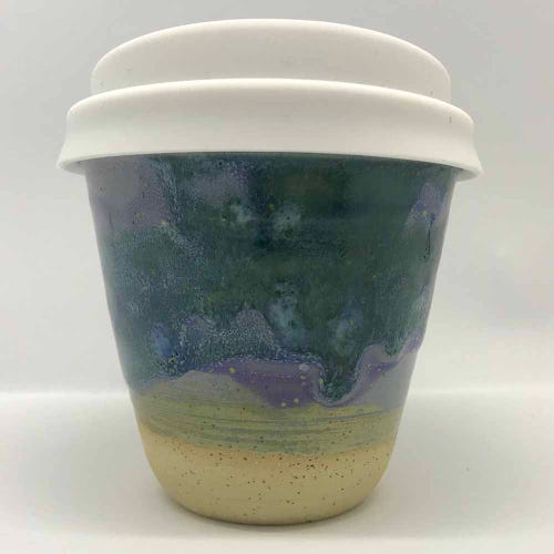 Bryteka Pottery Coffee Cup - Earth (4oz)