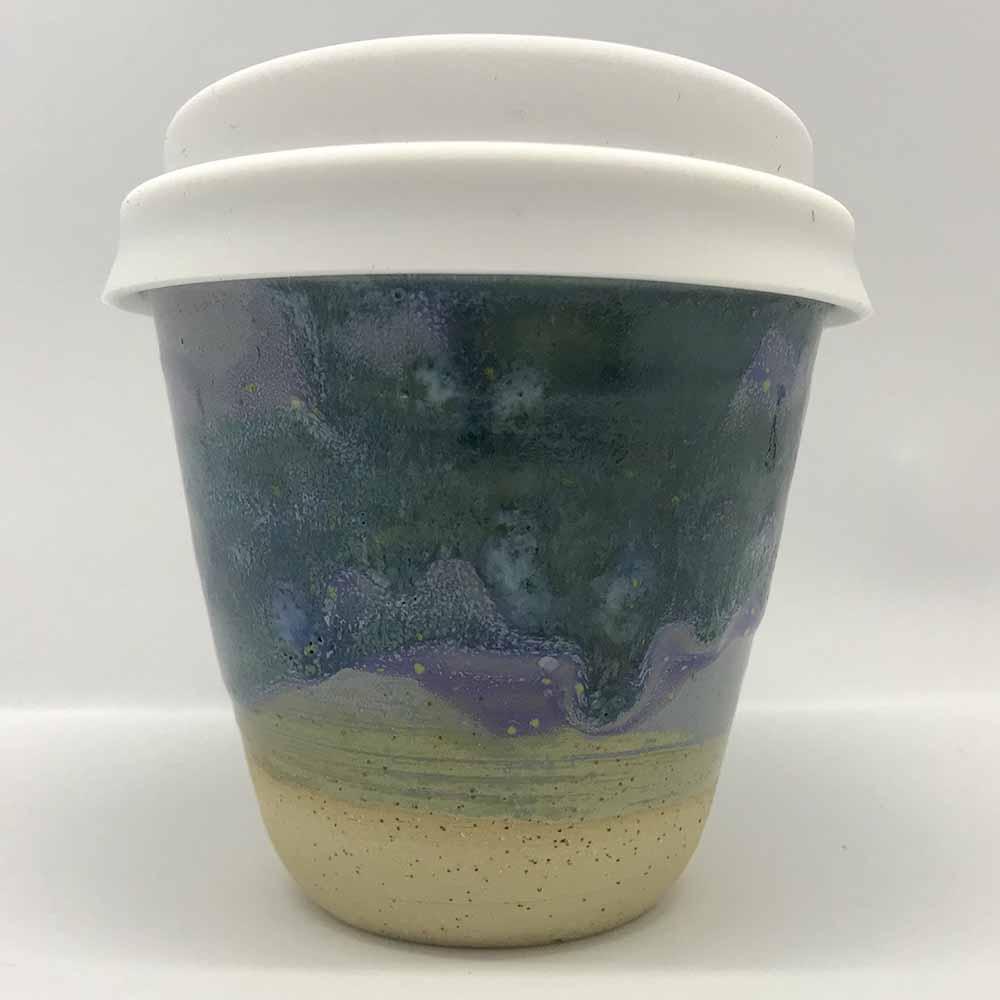 Bryteka Pottery Coffee Cup - Earth (4oz)