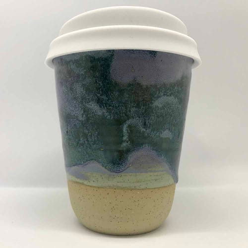 Bryteka Pottery Coffee Cup - Earth (8oz)
