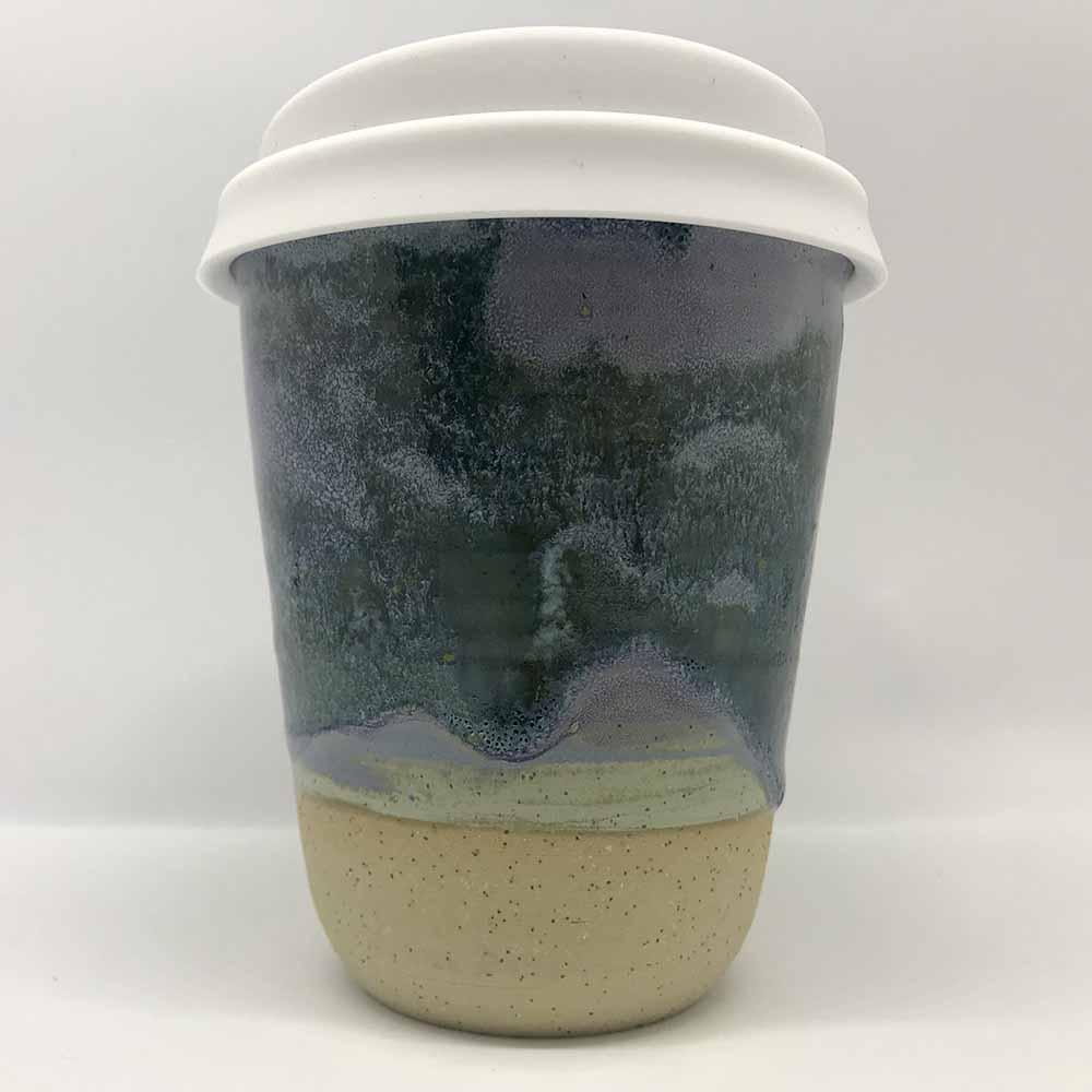 Bryteka Pottery Coffee Cup - Earth (8oz)