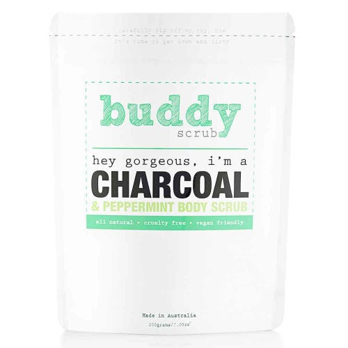 Buddy Scrub Body Scrub Charcoal (200g)