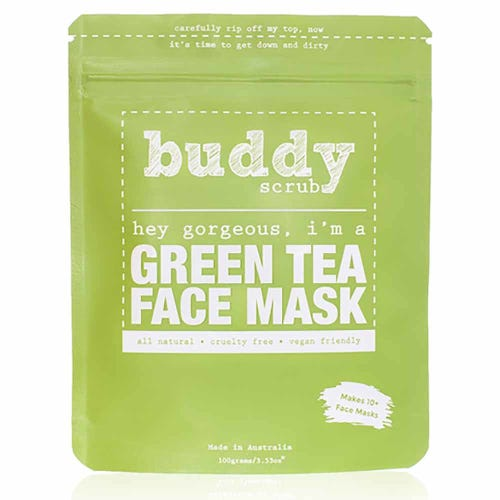 Buddy Scrub Face Mask - Green Tea (100g)