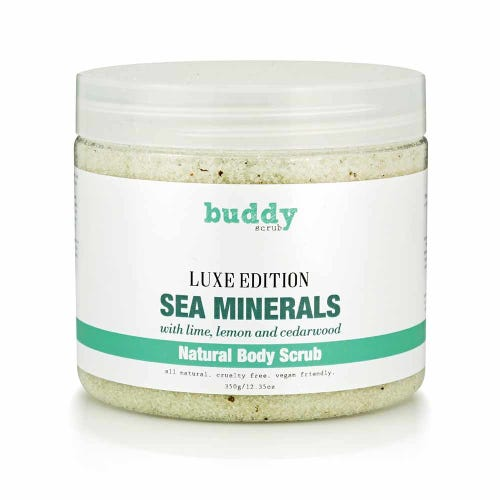 Buddy Scrub Luxe Body Scrub Sea Minerals (350g)