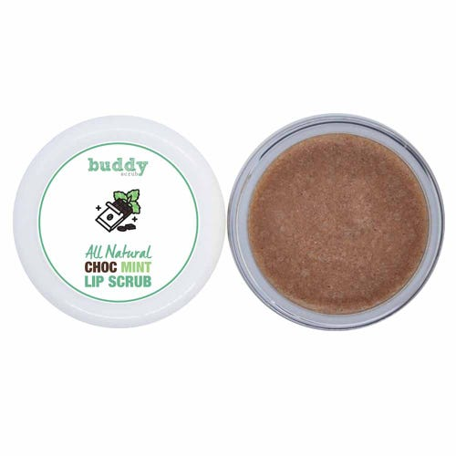 Buddy Scrub Lip Scrub Choc Mint (20g)