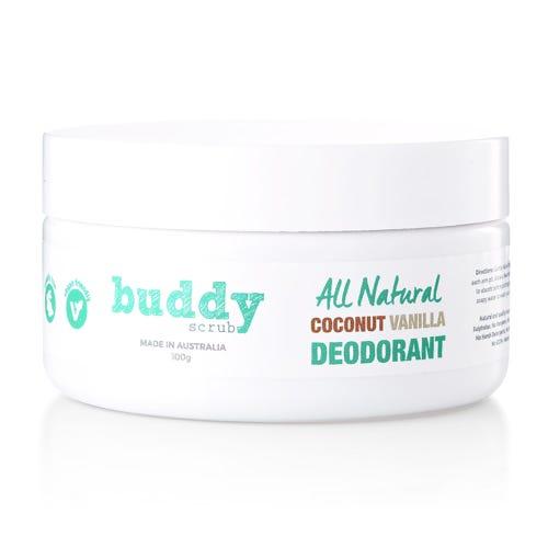 Buddy Scrub Coconut & Vanilla Deodorant