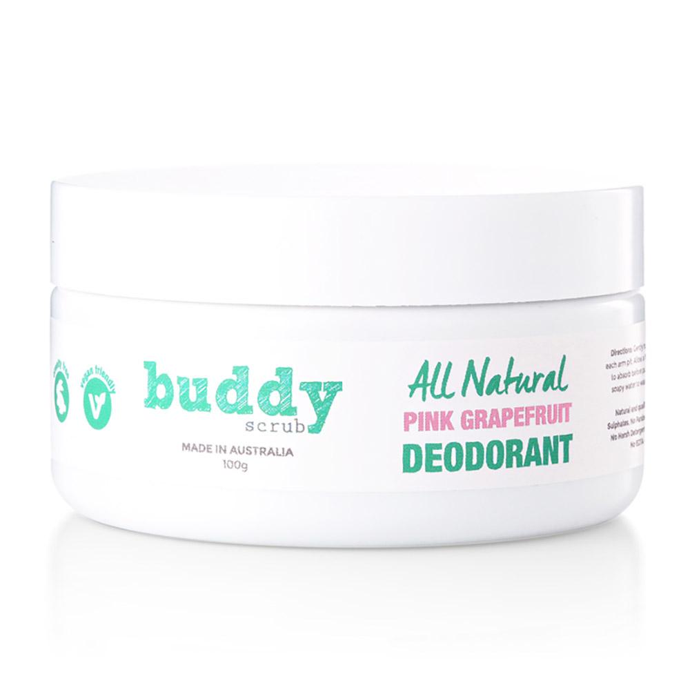 Buddy Scrub Pink Grapefruit Deodorant