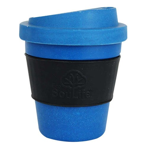 EcoSouLife Bamboo Bio Sip Cup - Navy (12oz)