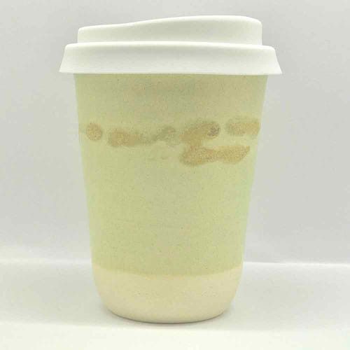 Bryteka Pottery Coffee Cup - Sandstone (12oz)