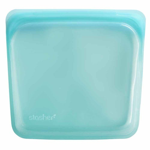 Stasher Reusable Sandwich Bag - Aqua