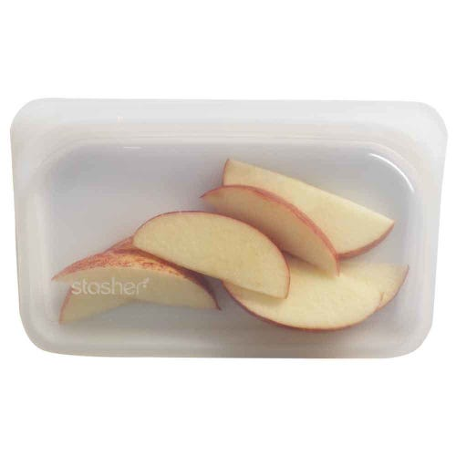 Stasher Reusable Snack Size Bag - Clear