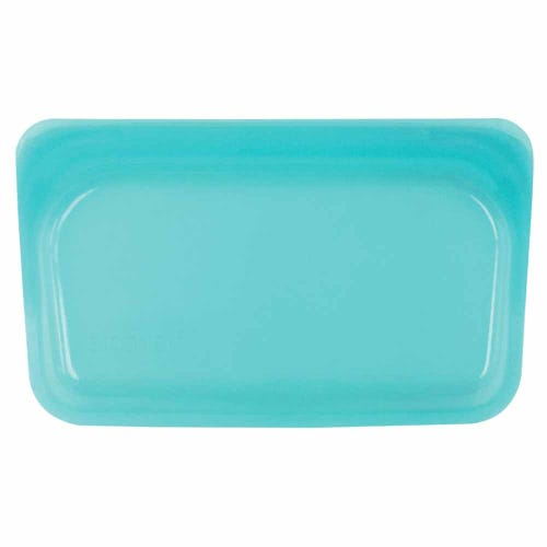 Stasher Reusable Snack Size Bag - Aqua
