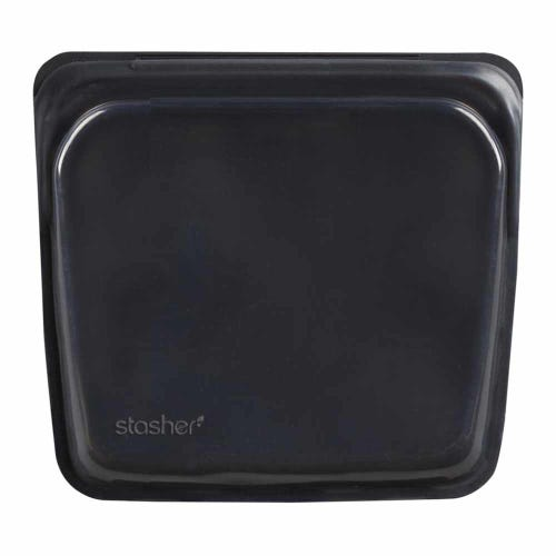 Stasher Reusable Sandwich Bag - Obsidian