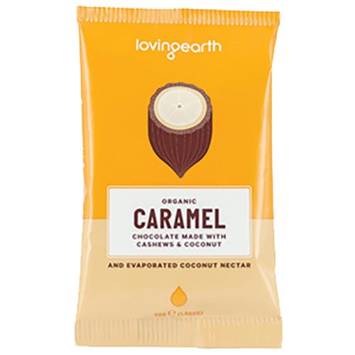 Loving Earth Caramel Organic Chocolate (30g)