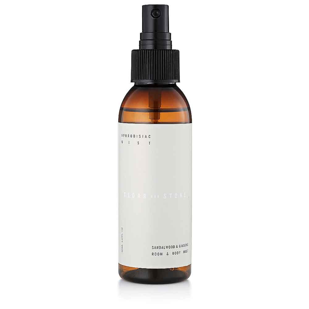 Cedar + Stone Mist Aphrodisiac - Sandalwood & Ginseng (125ml)
