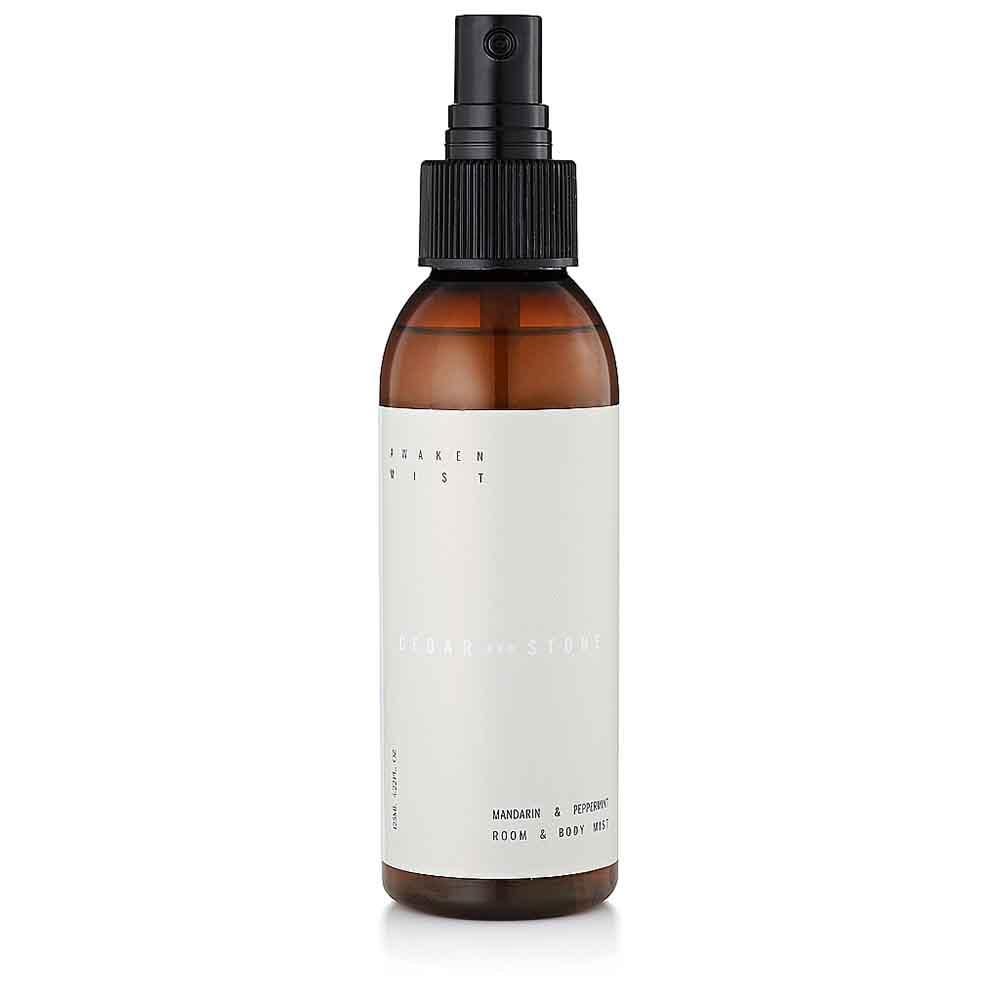 Cedar + Stone Mist Awaken - Mandarin & Peppermint (125ml)