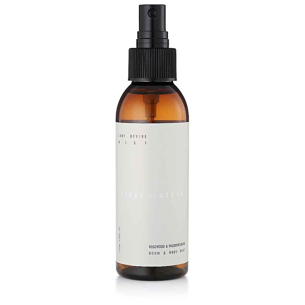 Cedar + Stone Mist Lady Devine Mist - Rosewood & Passionflower (125ml)