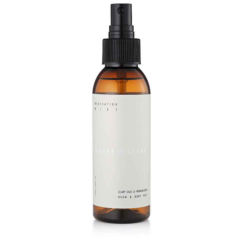 Cedar + Stone Mist Meditation - Clary Sage & Frankincense (125ml)