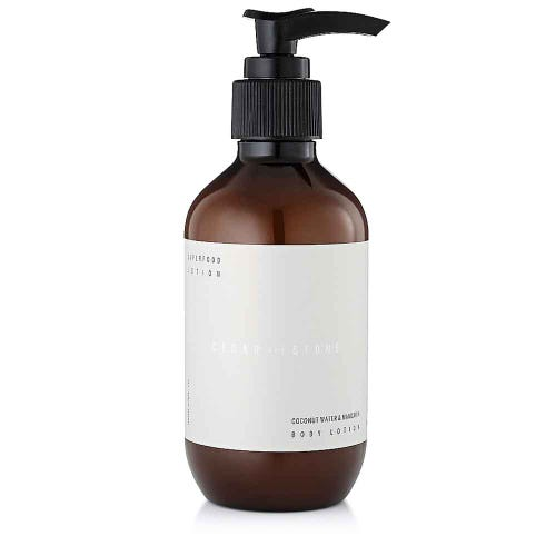 Cedar + Stone Coconut & Mandarin Body Lotion (200ml)