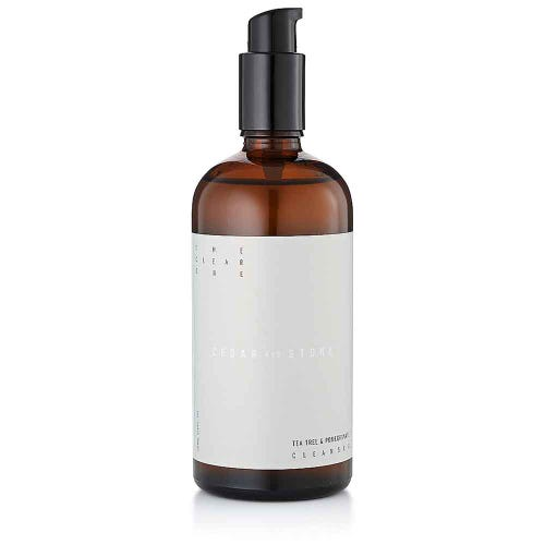 Cedar + Stone Tea Tree & Pomegranate Face Cleanser (200ml)