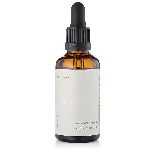 Cedar + Stone Lemon Myrtle & Rose Face Oil (30ml)