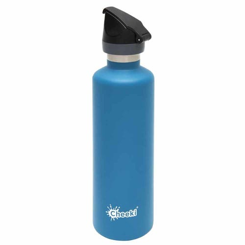Cheeki Insulated Active Bottle 600ml - Topaz