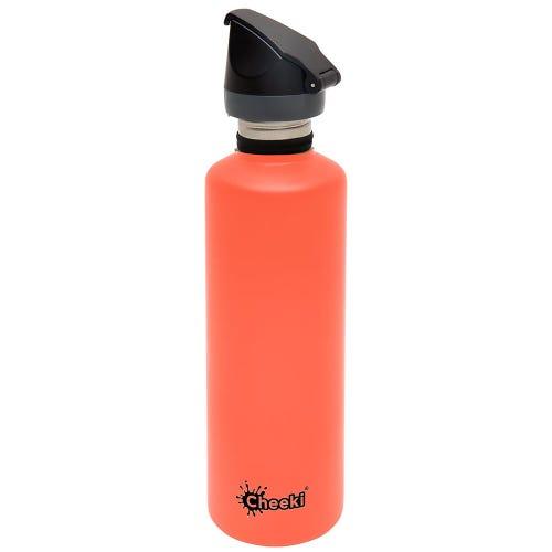 Cheeki Single Wall Active Bottle 750ml - Coral